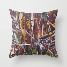 Abstract 2014/11/30 Throw Pillow