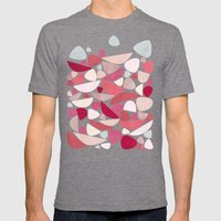 Sea Bed Mens Fitted Tee Tri-Grey SMALL
