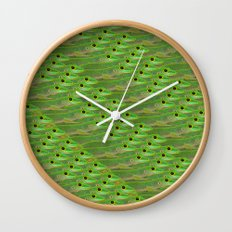 So many lizards! Wall Clock