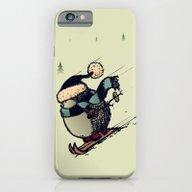 Skier iPhone 6 Slim Case