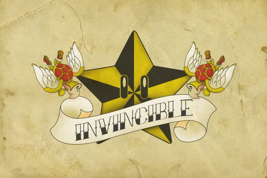 invincible. Art Print