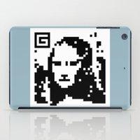 QR- Monalisa iPad Case