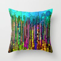:: Party Time :: Throw Pillow