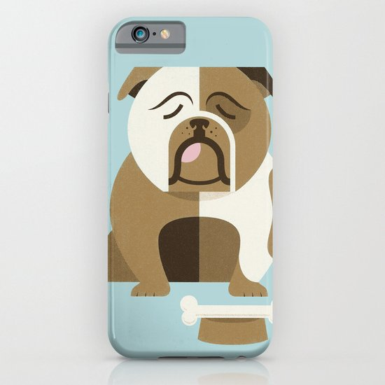 Bulldog - Blue Variant iPhone & iPod Case