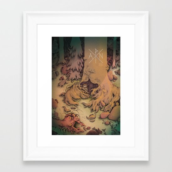 PAN ! Framed Art Print