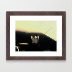 Warm & Flakey Framed Art Print