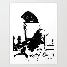 Ink Still Life Art Print
