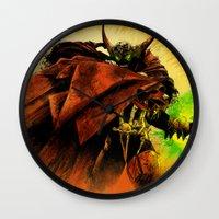 Hellspawn Wall Clock