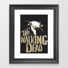 The Walking Dead Framed Art Print