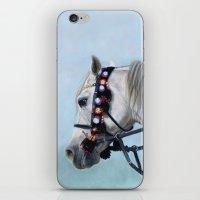 Arabian Horse Portrait iPhone & iPod Skin