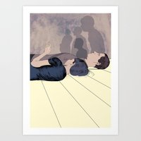 Another Common Room Art Print