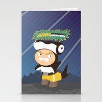 The Great Hammerheadman Stationery Cards