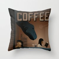 Dino-Mite Throw Pillow