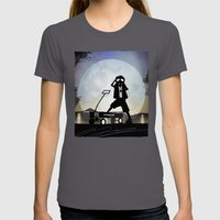 McFly Kid Womens Fitted Tee Asphalt SMALL