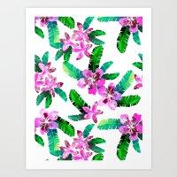 Tahitian Garden {A} Art Print