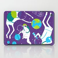 A Day Out In Space - Pur… iPad Case