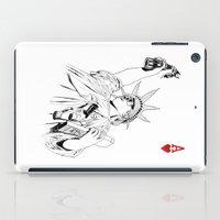 freedom...black & white iPad Case