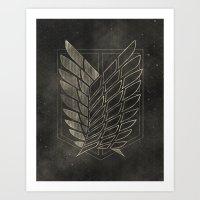 Attack on Titan  Art Print