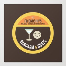 Foundations of Friendship Canvas Print