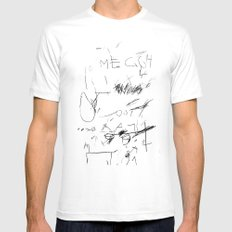 out street 6 SMALL White Mens Fitted Tee