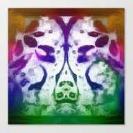 Canvas Print featuring Lace 3 by Geni