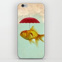 under cover goldfish 02 iPhone & iPod Skin