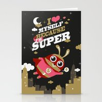 I'm Super Stationery Cards