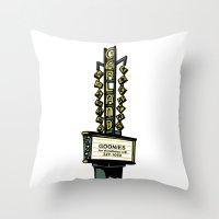 The Garland Theater, Spokane, WA Throw Pillow