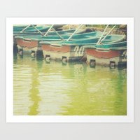 The boat number 20 Art Print
