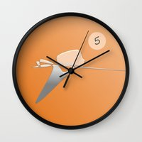 The Pool Player Wall Clock