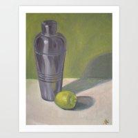 Shaker & Lime Art Print