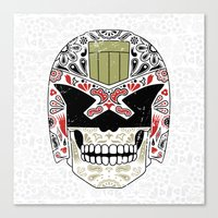 Day Of The Dredd - Varia… Canvas Print