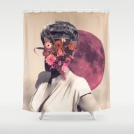 Shower Curtain featuring June by Peg Essert