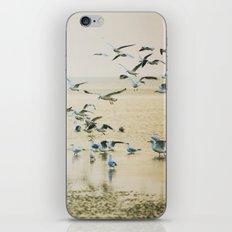 My heart beats in a million gulls iPhone & iPod Skin