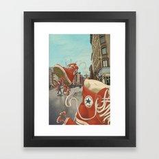 Runaways Framed Art Print