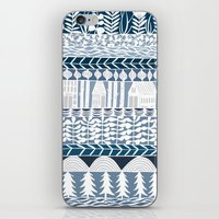 Rows And Rows iPhone & iPod Skin