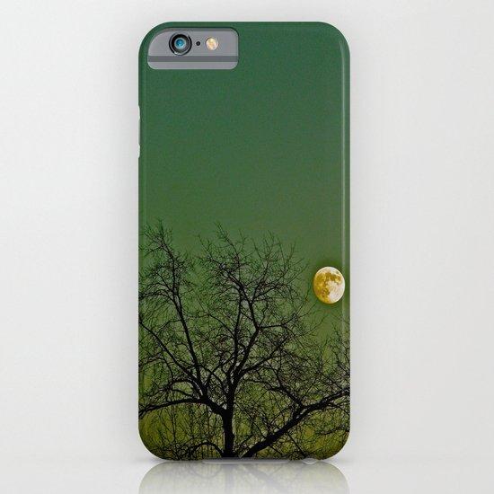 Tangled Tree Moon iPhone & iPod Case