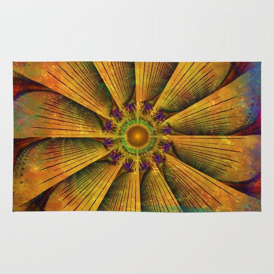 Mandala - Antiqued Area & Throw Rug