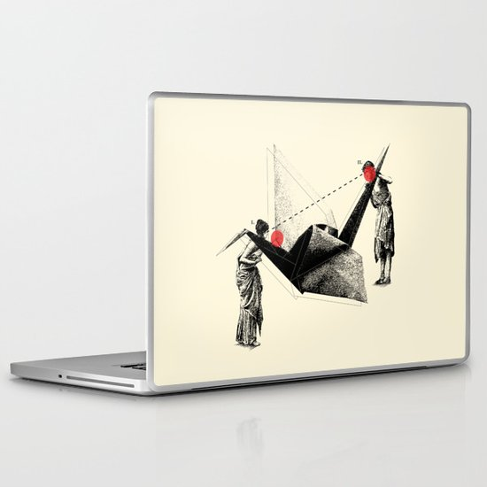 In Search Of Beauty (Circa 1876) Laptop & iPad Skin