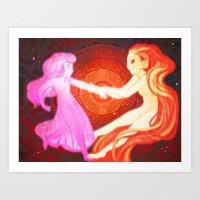 In Agreement Art Print