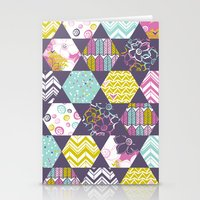 Garden Party Festive Hex… Stationery Cards