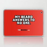 MY BEARD ANSWERS TO NO O… Laptop & iPad Skin