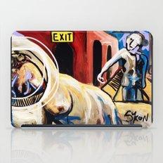 Exit Stage Left iPad Case