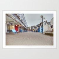 Irvine Bridgegate  Art Print