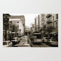San Francisco Street B&W Rug