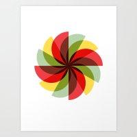 Windmill (2012) Art Print