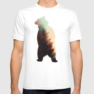 Norwegian Woods: Bear Mens Fitted Tee White SMALL