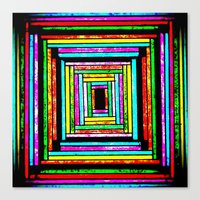 The Pattern Squared Canvas Print