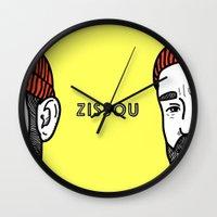 Zissou #2 Wall Clock