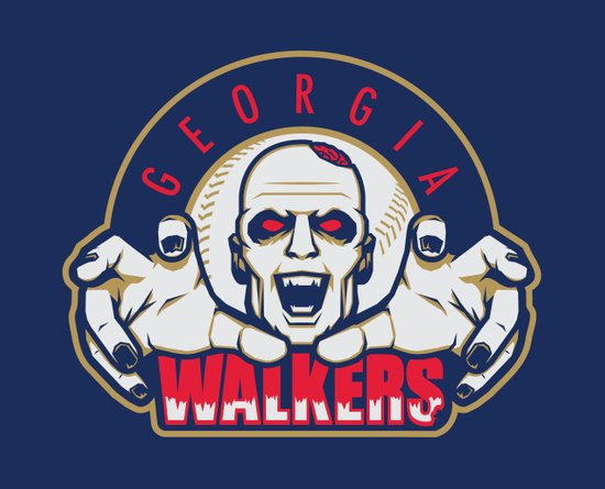Georgia Walkers Art Print